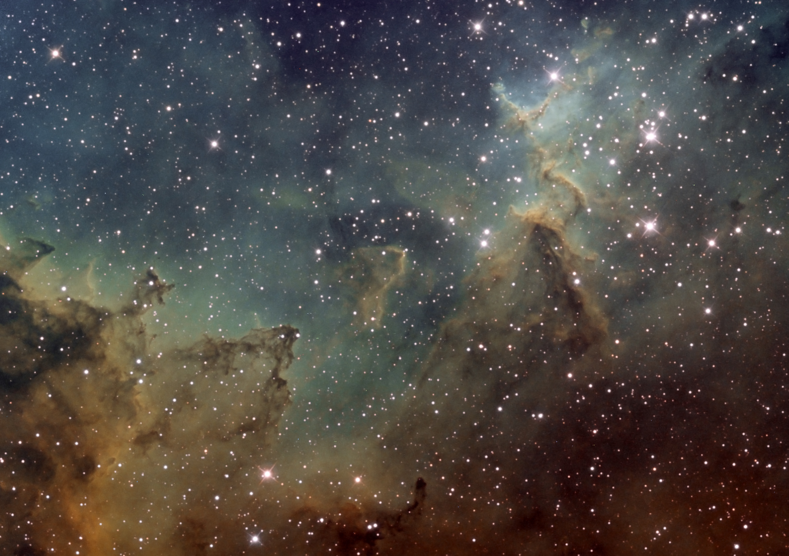 The Heller Observatory » Blog Archive » 9/24/2011 IC 1805 ...